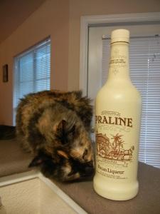 Mo and pecan liqueur