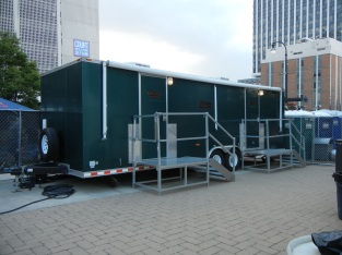 VIP portable restrooms