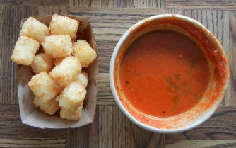 The Grilled Cheeserie: Tater Tots and Tomato Soup | Christina's Best Life