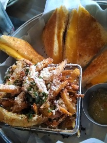Grilled cheese and tuscan fries | Tavern