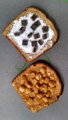 Dark Chocolate Waffle Nutter | Christina's Best Life