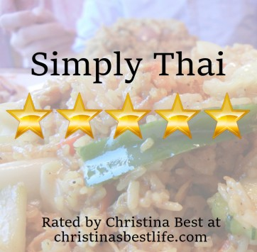 Simply Thai Rating | Christina's Best Life