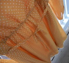 Fall crochet dress, tie embellishment | Christina's Best Life