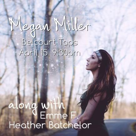 Megan Miller at Belcourt Taps
