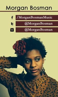 Morgan Bosman social media info card
